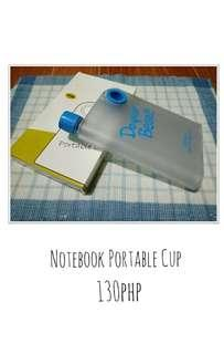 Notebook Portable Cup