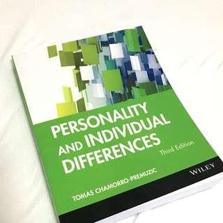 Personality and Individual Differences (Third Edition)