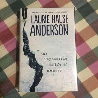 The Impossible Knife of Memory book by Laurie Halse Anderson
