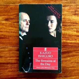 Book: Kazuo Ishiguro / The Remains of the Day