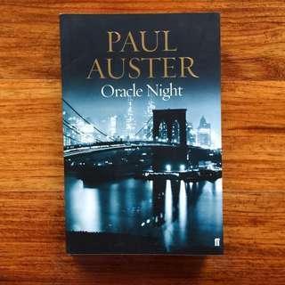 Book: Paul Auster / Oracle Night
