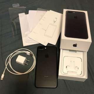 二手不議價 IPhone 7 Plus 128G 黑色手機