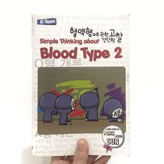 Blood Type 2 Book (Indonesian)