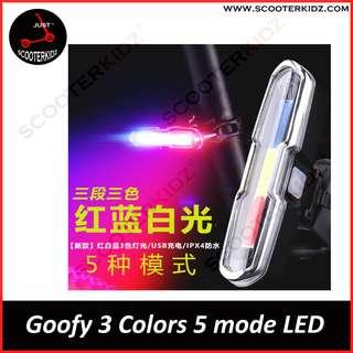 Goofy 3 colors 5 modes LED