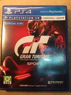 🚚 GTsport PS4 賽車遊戲 含特典僅玩一次超級新