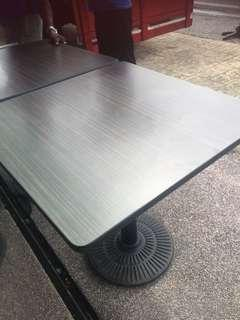 Wooden table Diameter- 27 inches.