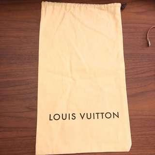 LV 塵袋 鞋袋 索繩袋 dustbag dust cover Louis Vuitton