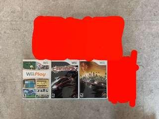 Assorted Wii Games selling CHEAP