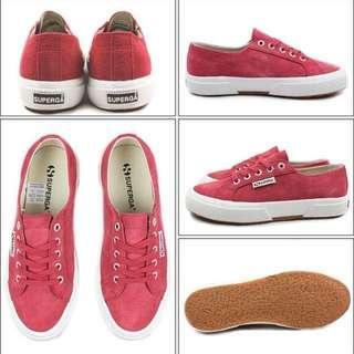 BNIB Superga Suede Sneakers Size 37