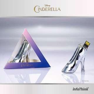 Cinderella Glass Sliper USB 16GB