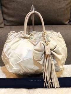Authentic Prada Nylon With Tassel and Dustbag
