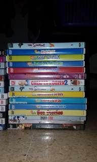 Dijual Berbagai DVD & CD Original 30rb / Item