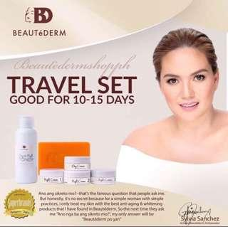 Beautèderm Travel Set kutis artista!