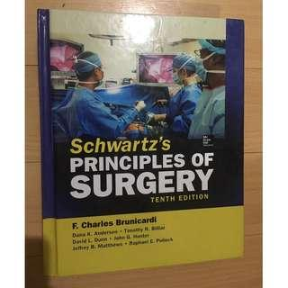 Schwartz's Principles of Surgery 10th Edition (Hardbound Reprint)