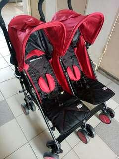Stroller twin sweet cherry