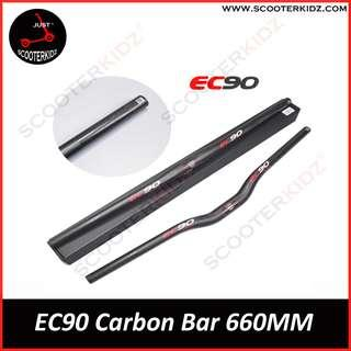 EC90 3K Carbon Handlebar For Scooter & Bicycle 25.4mm & 31.8mm