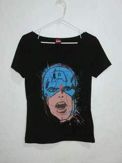 MARVEL Folded & Hung Captain America Top