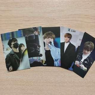[SET] BTS Jungkook photocards