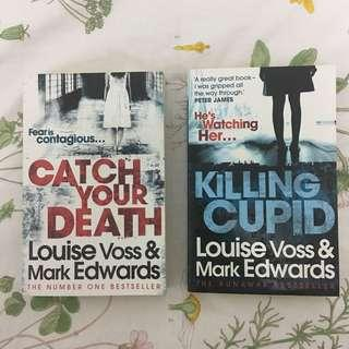 Thriller Novels by L Voss & M Edwards