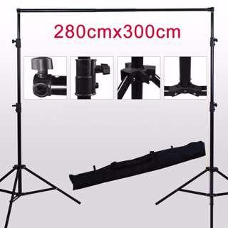 2.8m x 3m Backdrop / Background Stand