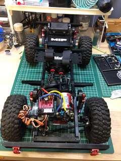 Xtraspeed D90 crawler rig