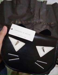 Charles & Keith Authentic / Original Slingbag / Bag / Kitten