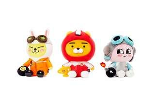 Korea Kakao Friends Ryan Friend Racing Plush