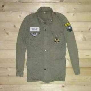 Parka Army Jaket Young Storm
