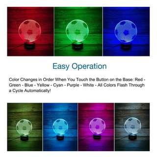 (826)WANTASTE 3D Optical Illusion Night Light