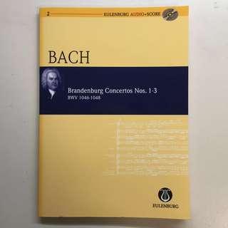Bach Brandenburg Concertos Nos. 1-3
