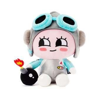 Korea Kakao Friends Apeach Friend Racing Plush