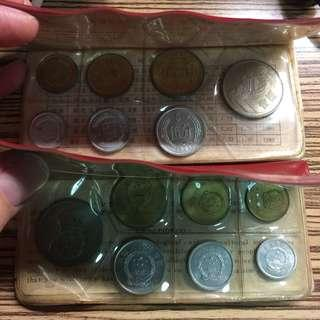 China 1981 UNC coin sets (For sharing)