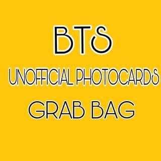 🚚 BTS UNOFFICIAL PHOTOCARDS GRAB BAG