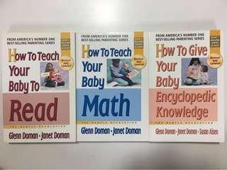 🚚 Glenn Doman 'How to teach your baby 'series