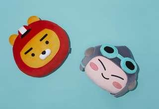 Korea Kakao Friend Racing Friend Apeach Cushion