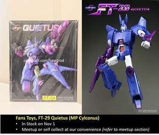 Fans Toys FT-29 Quietus (MP Cyclonus)