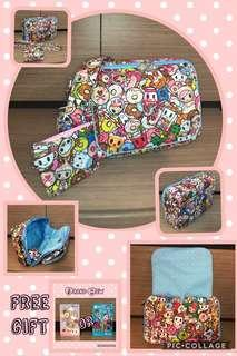 BN Custom Jujube Be Small Cross Body Bag - Tokidoki Tokipops