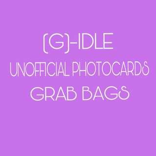 🚚 (G)-IDLE UNOFFICIAL PHOTOCARDS GRAB BAG