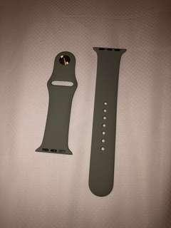 Apple Watch 38/40mm Silicone Strap - Gray