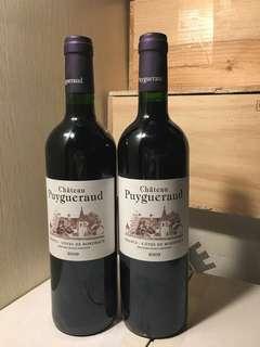 法國波爾多紅酒 2009 Chateau Puygueraud