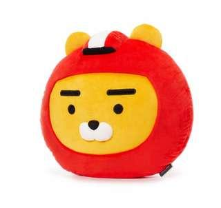 Korea Kakao Friend Racing Friend Ryan Cushion NWT