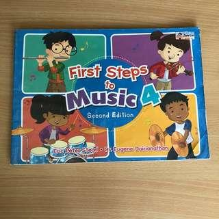 P4 First Steps To Music (Used)
