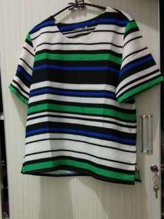 Stripe blouse by St.Yves