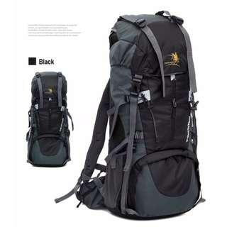 65L+5L Free Knight ll Travel Backpack/ Haversack - New!