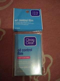Oil control film