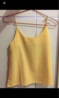 COLORBOX YELLOW TANKTOP