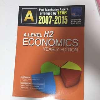 A Level Economic 10 Year Series (07-15)