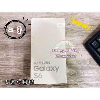 SAMSUNG Galaxy S6空機 白色 可面交 二手 公司貨 現貨 S6空機 S6手機 無保固 三星 另有售手機殼