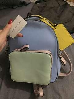 original charles & keith mini backpack