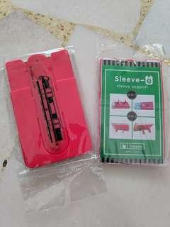 Sleeve support stand for mobile phones Free normal postage